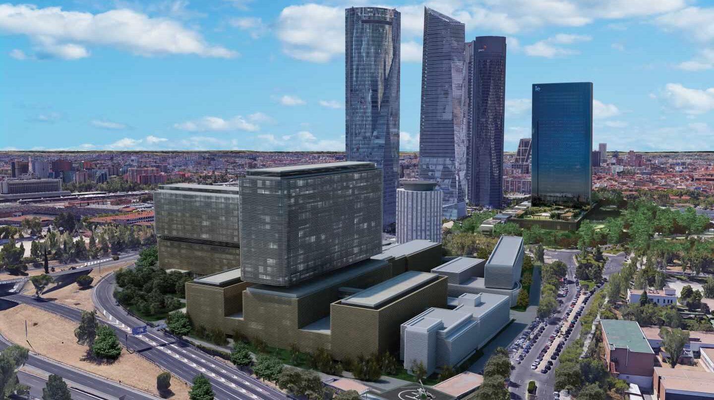 Así será el nuevo hospital de La Paz