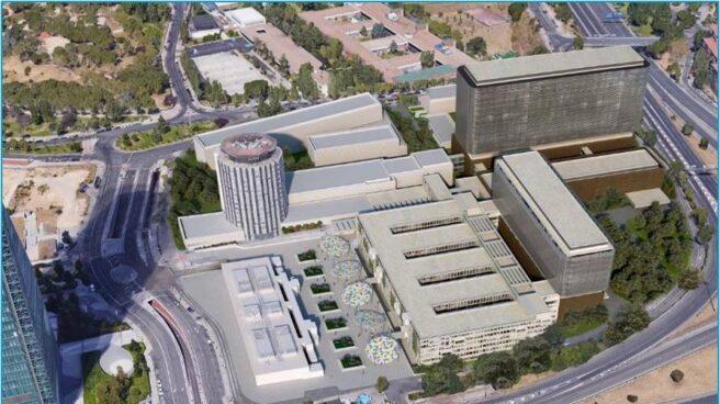Diseño del nuevo Hospital La Paz.