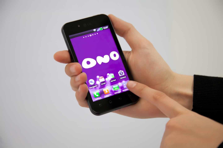 Un móvil de un usuario de la antigua Ono.