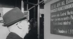 Francisco Franco inaugura en 1968 la central nuclear de Zorita.