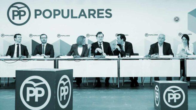 Reunión del Comité Ejecutivo Nacional del Partido Popular.