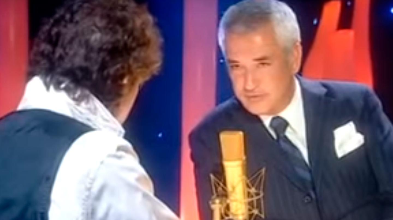 Jesús Quintero entrevista a Luis Pineda en el programa 'Ratones coloraos', que emitía Canal Sur, en marzo de 2008.