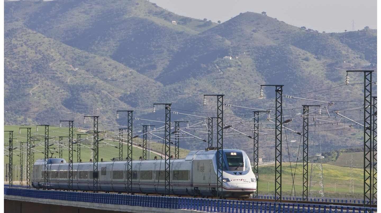Tren AVE Madrid-Málaga.