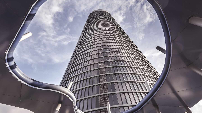 Racacielos de PWC en Madrid