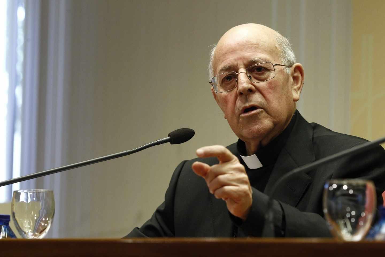 Monseñor Ricardo Blázquez, presidente de la Conferencia Episcopal.