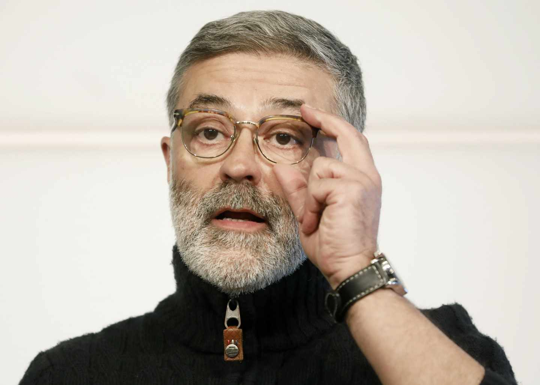 El diputado de la CUP, Carles Riera.
