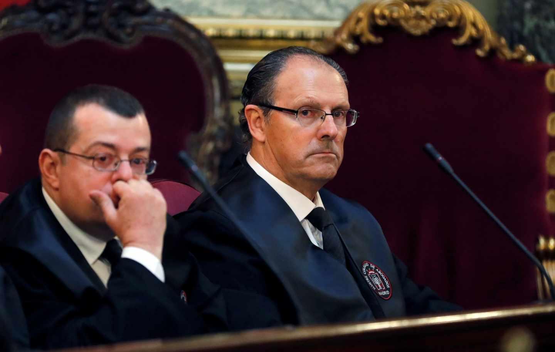 Los abogados de Torres y Urdangarin, en el Tribunal Supremo.