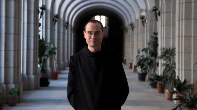 Santiago Cantera, prior del Valle de los Caídos, en una imagen tomada en la abadía.