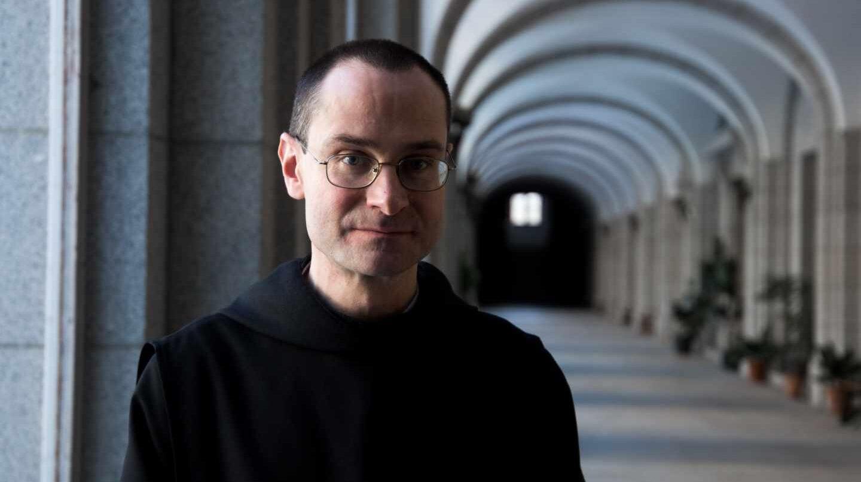 Santiago Cantera, prior del monasterio del Valle de los Caídos, en una entrevista concedida en marzo de 2017.