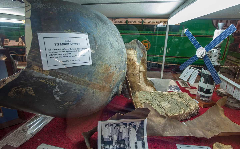 Restos del Skylab recuperados por un museo de AustraliaRestos del Skylab recuperados por un museo de Australia