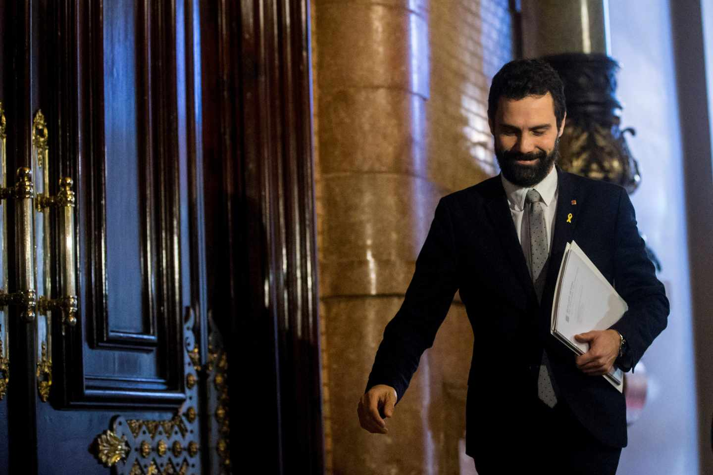 Roger Torrent aplaza el pleno de investidura de Jordi Sánchez.