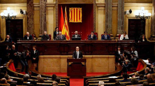 Jordi Turull, en el discurso de investidura.