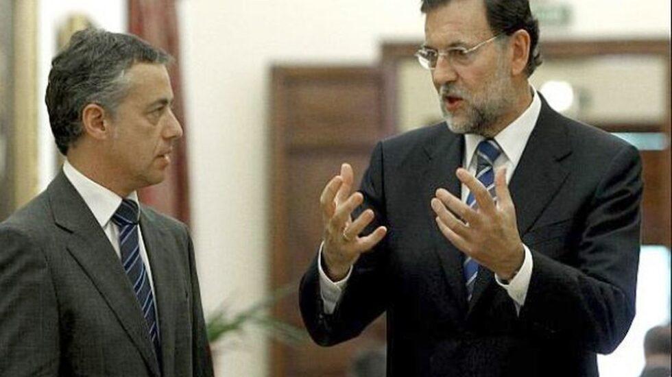 Íñigo Urkullu y Mariano Rajoy