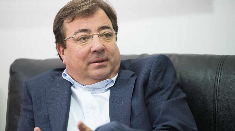Guillermo Fernández Vara, presidente de la Junta de Extremadura.