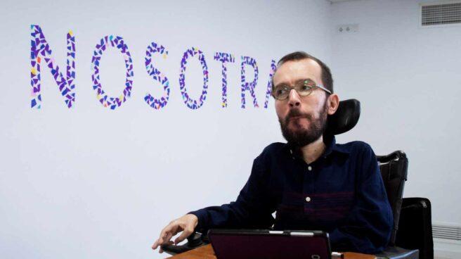 El secretario de Organización de Podemos Pablo Echenique.