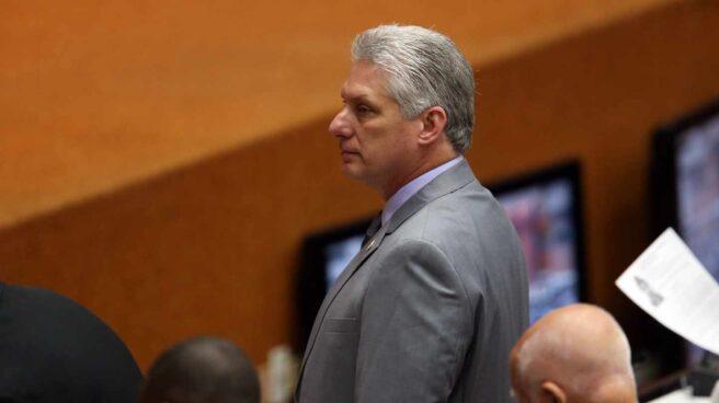 El primer vicepresidente de Cuba, Miguel Díaz-Canel.