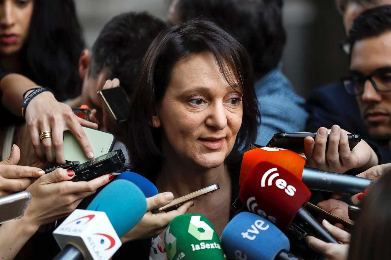 Carolina Bescansa declara tras la publicación de su propuesta de negociación.
