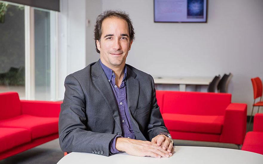 Alfonso Valero Aguado, durante su etapa como profesor de Derecho en la Nottingham Trent University.