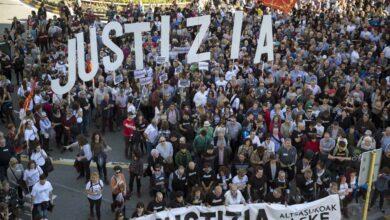 """Los agresores de Alsasua asumieron un delito """"terrorista"""" para reducir al mínimo sus penas"""