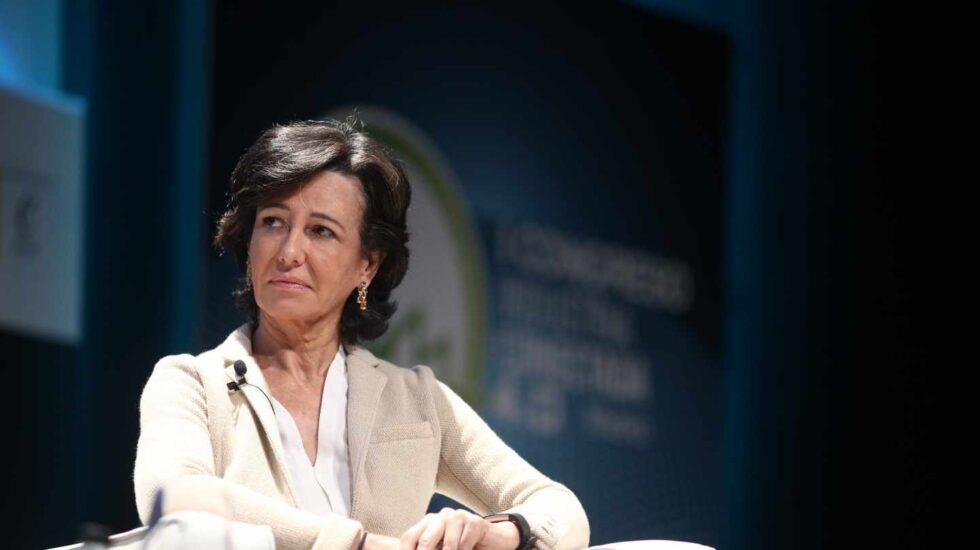 Ana Botín, presidenta de Banco Santander.