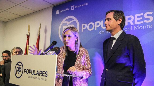 Cristina Cifuentes junto a Antonio González Terol