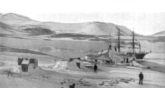 Campamento de la expedición Discovery