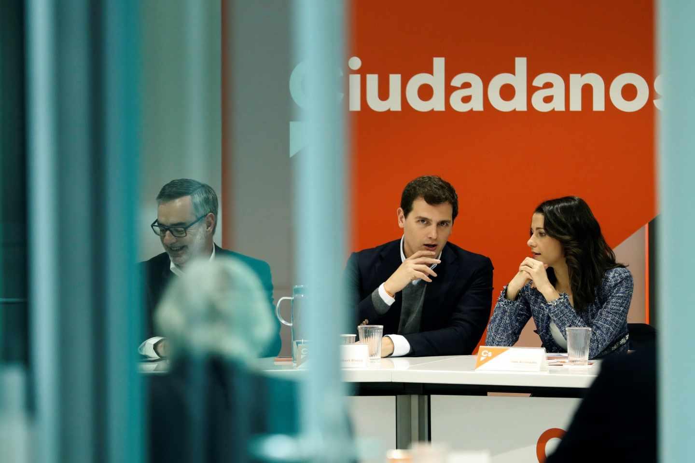 Reunión del Comité Ejecutivo de Ciudadanos.
