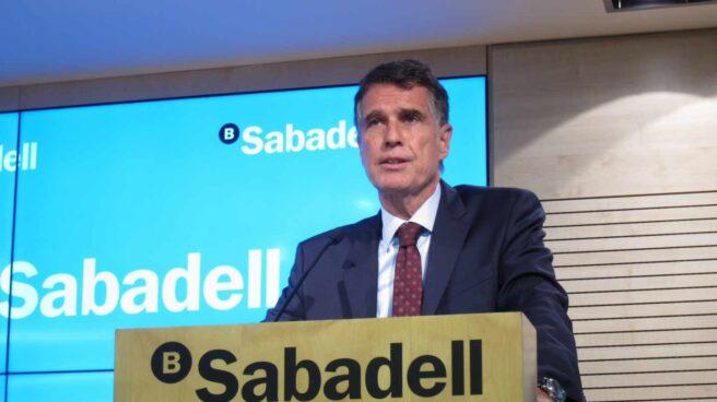 Jaime Guardiola, consejero delegado de Banco Sabadell.