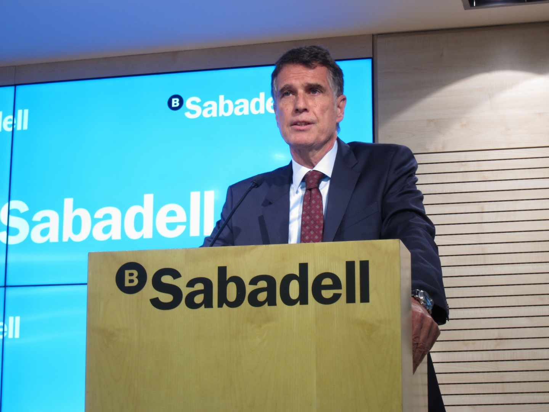 """Sabadell: """"La banca se merece un poco de reconocimiento y menos tortazos"""""""