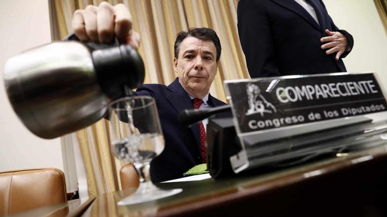 Ignacio González comparece en el Congreso.