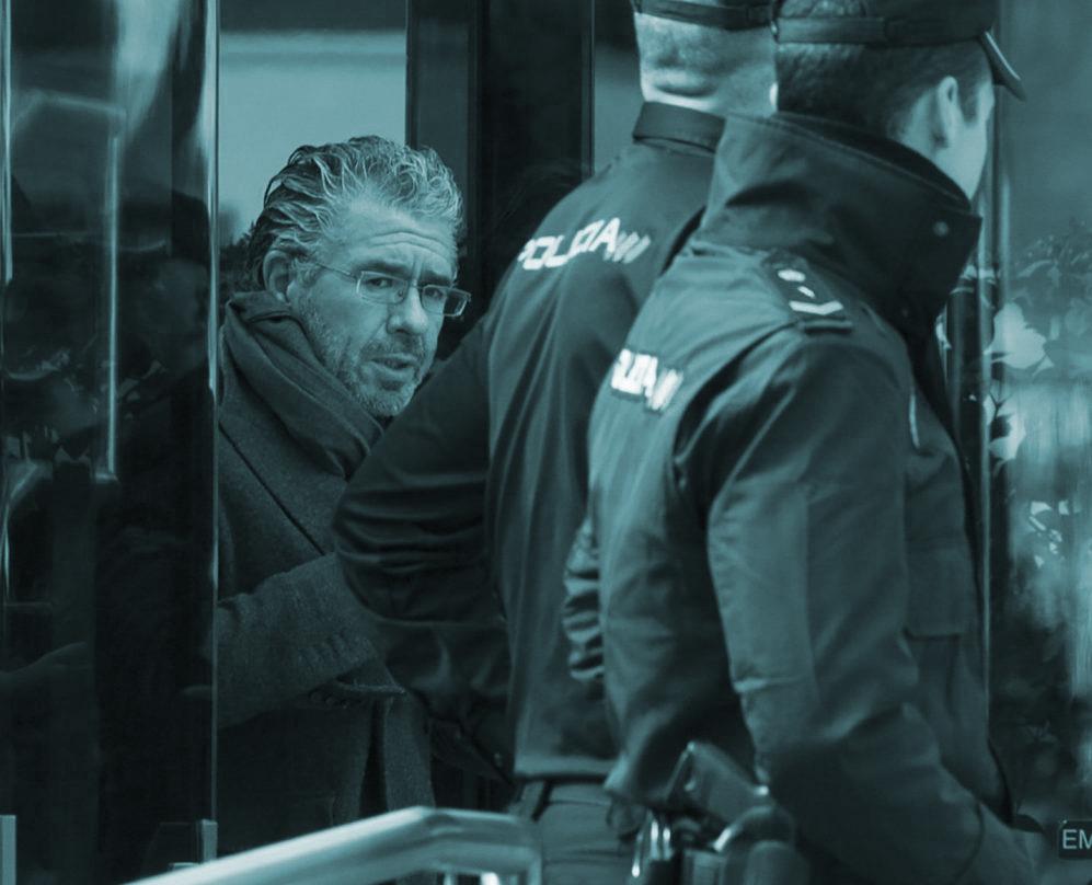 Francisco Granados, a su salida de la Audiencia Nacional.