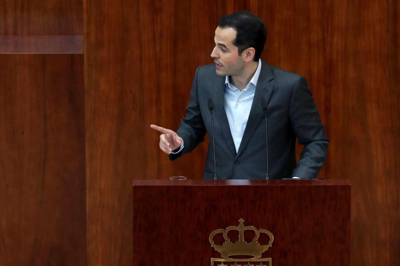 Ignacio Aguado, portavoz de Ciudadanos en la Comunidad de Madrid.