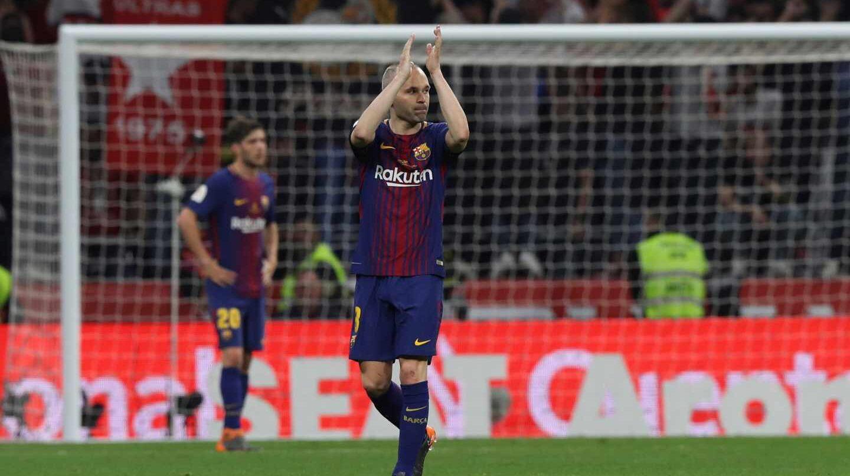Andrés Iniesta se despide del Barcelona.