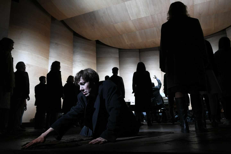 'Johannes Passion' en el Teatro Arriaga de Bilbao.
