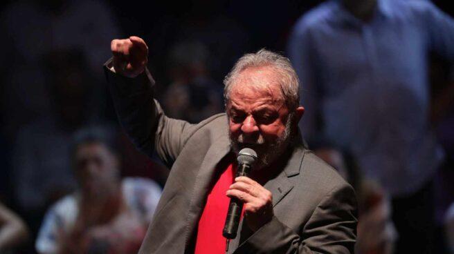 Lula da Silvia en un acto en Río de Janeiro.