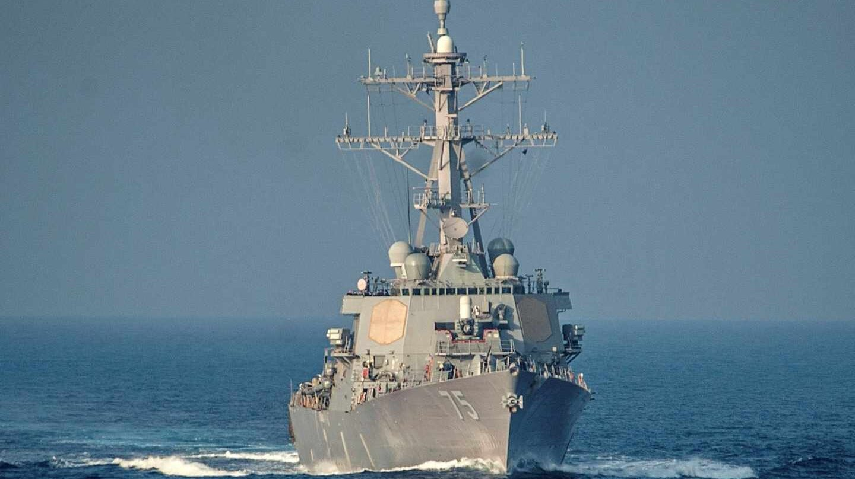 El destructor USS Donald Cook es el mayor activo de EEUU en las aguas del Mediterráneo oriental