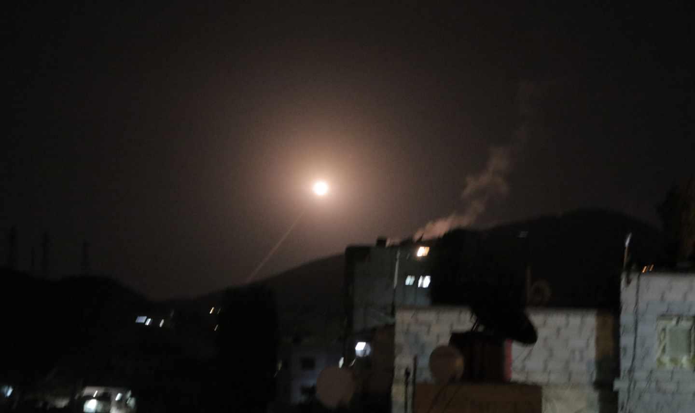 Primeras imágenes del ataque en Damasco (Siria).