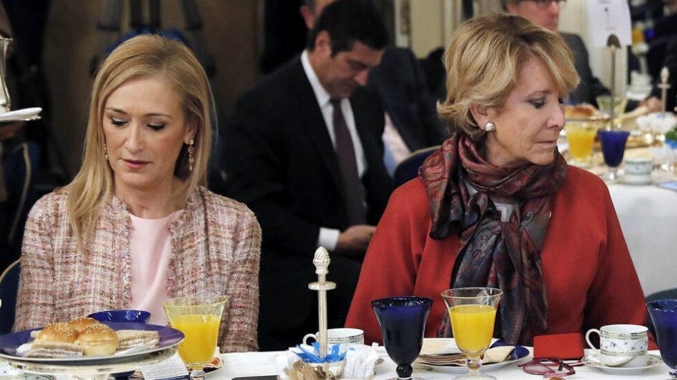 Cifuentes y Aguirre en una imagen de archivo
