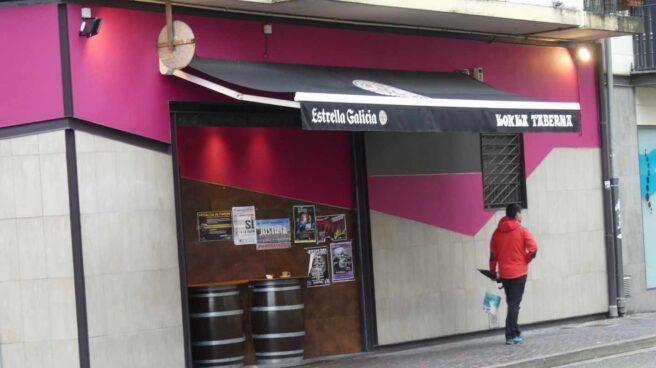 El bar 'Koxka' de Alsasua donde se inició la agresión a los agentes el 15 de octubre de 2016.