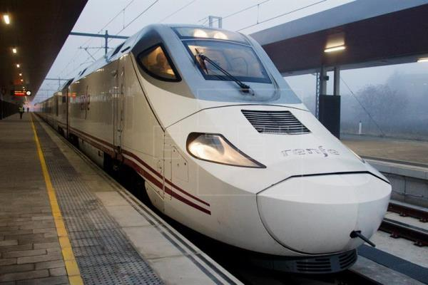 Tren de alta velocidad en Zamora, inaugurado a finales de 2015.