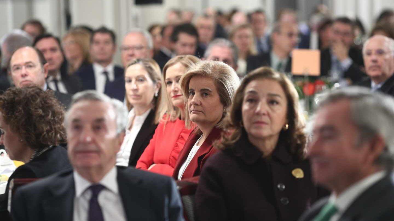La ministra de Empleo, Fátima Báñez, ha centrado los esfuerzos de su departamento en cerra la brecha salarial.