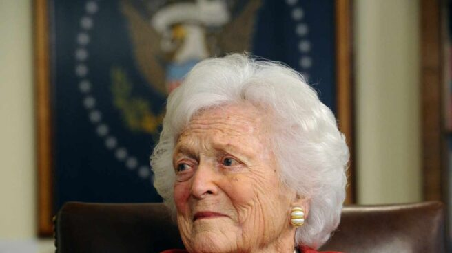 La ex primera dama de los Estados Unidos, Barbara Bush.