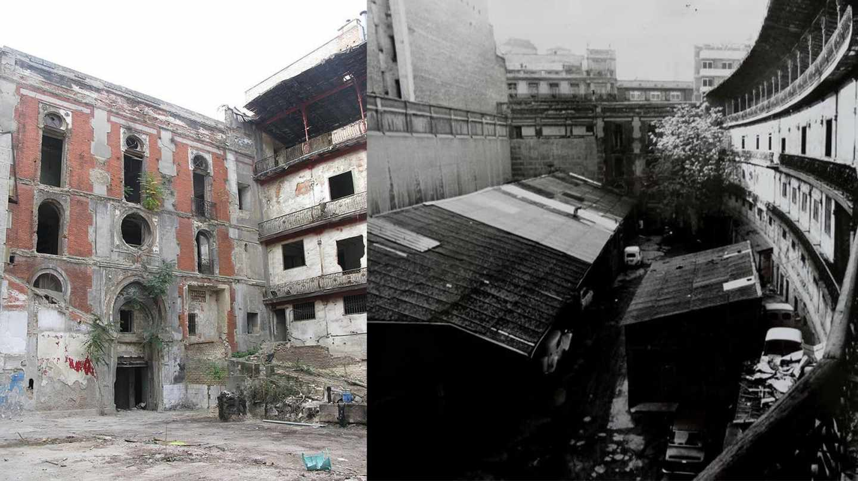 El Beti Jai antes de la restauración