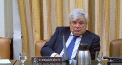 Ramón Blanco Balín, presunto arquitecto de la Gürtel, en el Congreso.