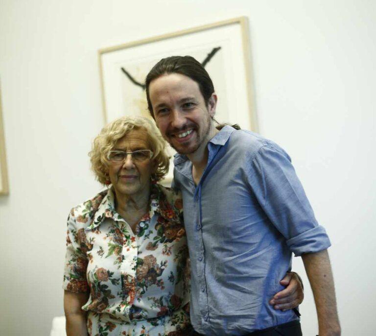 Manuela Carmena responde a Pablo Iglesias por no haber apoyado a Más Madrid