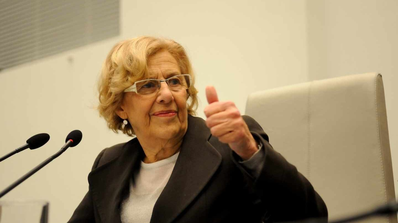 La alcaldesa de Madrid, Manuela Carmena.