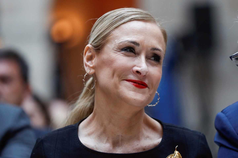 Cristina Cifuentes, ex presidenta de la Comunidad de Madrid.