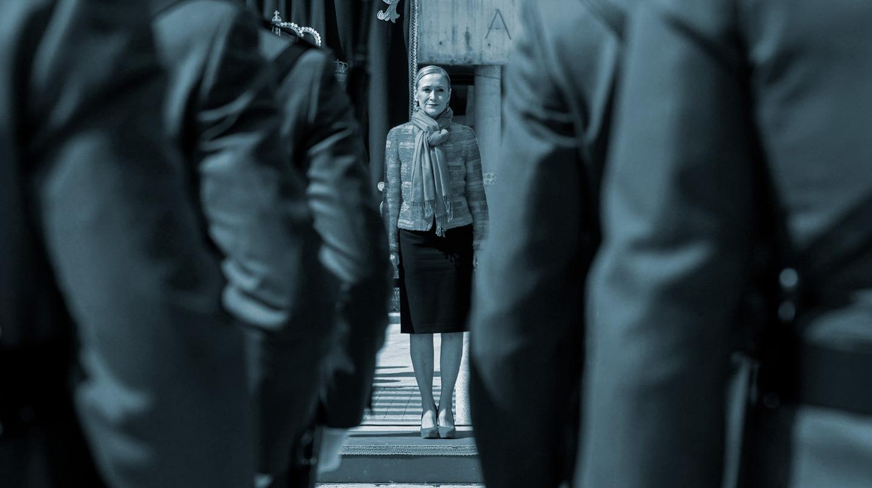 Cristina Cifuentes, en un acto con la Guardia Civil
