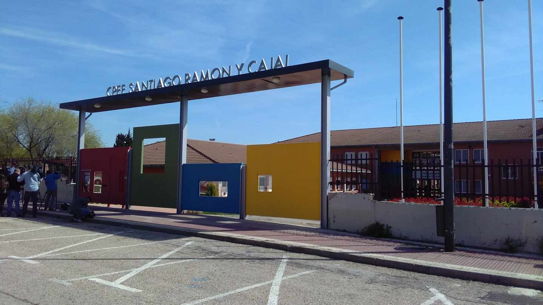 Colegio de Getafe en el que los padres han denunciado malos tratos.