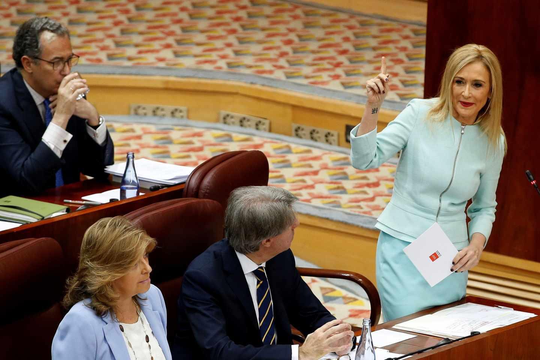 La presidenta de la Comunidad de Madrid, Cristina Cifuentes.